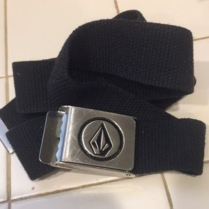 Volcom canvas belt